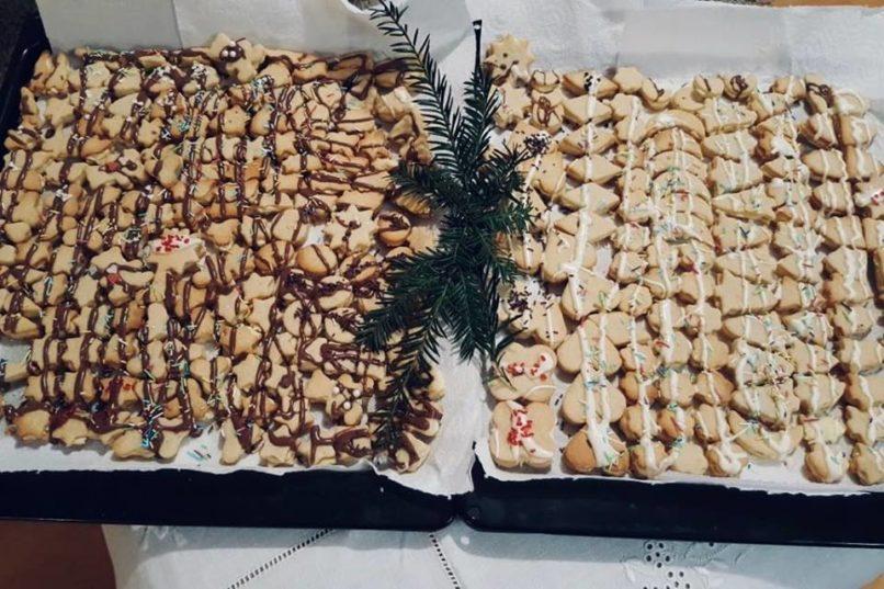 Maślane świąteczne ciasteczka Dorotki