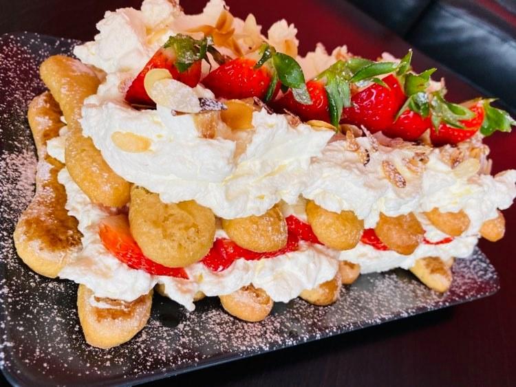 Ciasto z biszkoptów