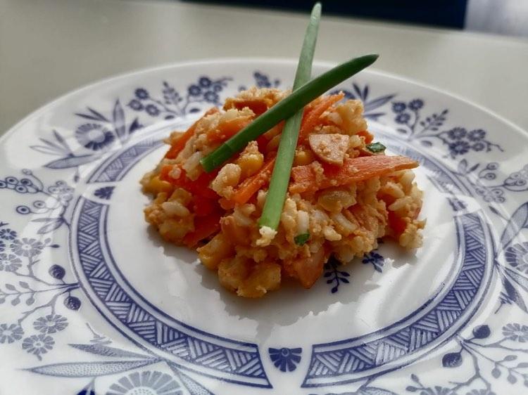 Ryż w jajku z warzywami